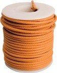 Kabel vintage orange solid core (0,55mm2)
