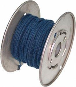 Kabel vintage niebieski solid 0,35mm2