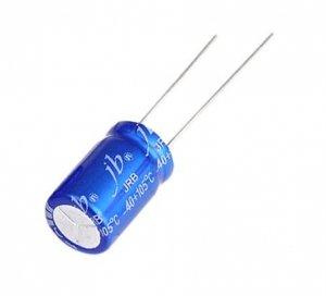 JB capacitor 100uF 35V JRB