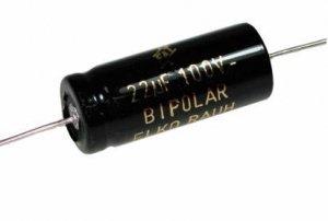 Kondensator 15uF 100V CFT F&T bipolarny
