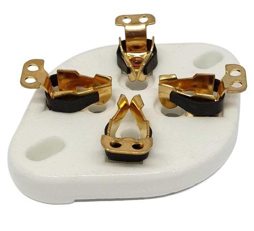 Podstawka 4pin typ1 Gold UX4 (300B)