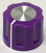 Gałka X5-16 purpurowa (push-on)