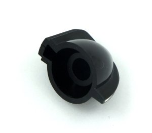 Gałka chickenhead czarna mini SML