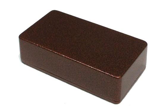 Obudowa czarno-miedziana młotkowa eq1590B
