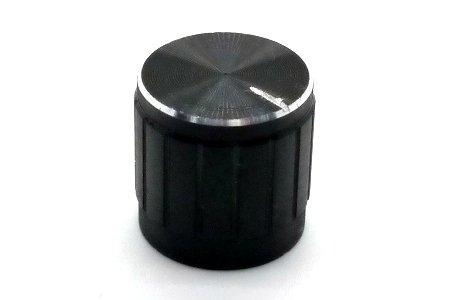 Gałka czarna 15x17