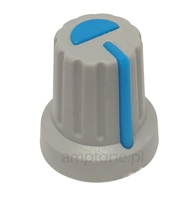 Gałka soft GR niebieska