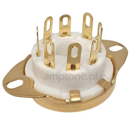 Podstawka Octal 8pin Gold typ5