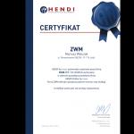 Certyfikat Hendi
