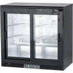szafa chłodniczna do butelek 250l drzwi przesuwane