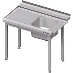 Stół załadowczy(L) 1-kom. bez półki do zmywarki STALGAST 1400x750x880 mm spawany