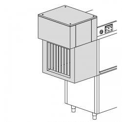 Moduł suszący o mocy 4,5 kW z wyjściem prostym, gwarantujący perfekcyjnie suche naczynia