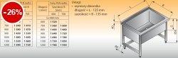 Basen wysoki przyścienny lo 408 - 1200x600 g400
