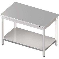 Stół centralny z półką 1900x800x850 mm skręcany