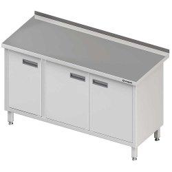 Stół przyścienny z drzwiami skrzydłowymi 1500x700x850 mm