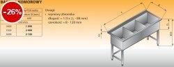 Basen 3-komorowy lo 403 - 1600x600 g350