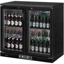 szafa chłodniczna do butelek 250l drzwi otwierane