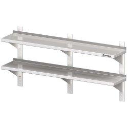 Półka wisząca, przestawna,podwójna 1600x300x660 mm