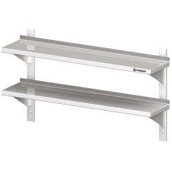 półka wisząca, przestawna,podwójna 1200x300x660 mm