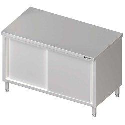 Stół centralny,przelotowy z drzwiami suwanymi 1600x700x850 mm