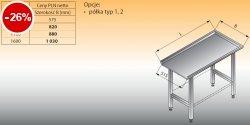 Stół prosty lo 324 - 1100x575 Lozamet