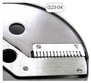 Tarcza tnąca regulowana, paski 4mm x1 - 10mm - G23-04