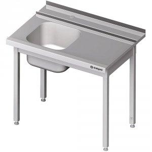Stół załadowczy(P) 1-kom. bez półki do zmywarki STALGAST 1100x750x880 mm skręcany