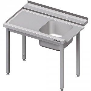 Stół załadowczy(L) 1-kom. bez półki do zmywarki STALGAST 1000x750x880 mm spawany