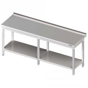 Stół przyścienny z półką 2800x700x850 mm spawany