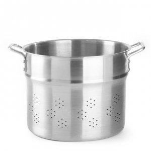 Wkład do gotowania pierogów, kopytek i makaronu - Profi Line, perforowany 21 l; śr. 320 x 270 h