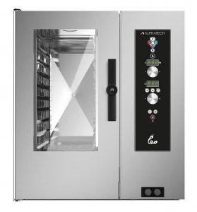 Piec konwekcyjno-parowy elektryczny Alphatech by Lainox | LVES101 | 16kW | 10xGN1/1