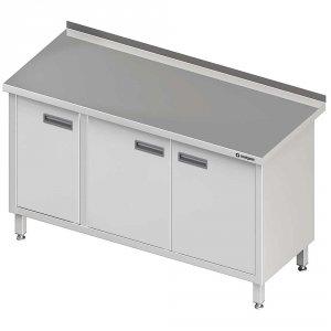 Stół przyścienny z drzwiami skrzydłowymi 1500x600x850 mm