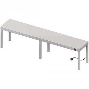 Nadstawka grzewcza na stół pojedyncza 1800x400x400 mm