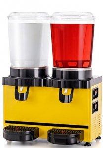 Schładzacz do napojów | dyspenser napojów | 10 l + 10 l | Panoramic MM20.AY