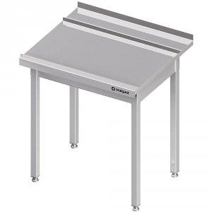 Stół wyładowczy(P), bez półki do zmywarki STALGAST 1100x750x880 mm spawany