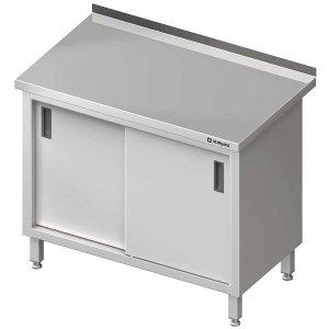 Stół przyścienny z drzwiami suwanymi 1500x600x850 mm