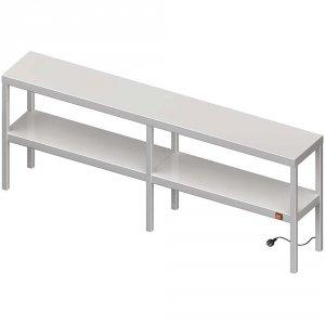 Nadstawka grzewcza na stół podwójna  1600x400x700 mm