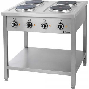 Kuchnia elektryczna wolnostojąca 4x2,6 kw