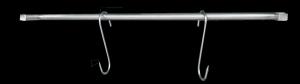 Prowadnica na haki | akcesoria do szafy do sezonowania ZERNIKE | KGANC70150