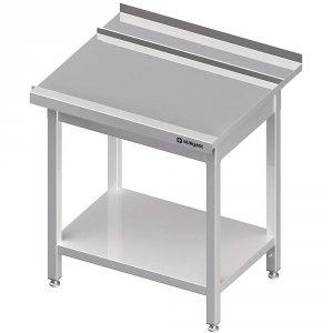 Stół wyładowczy(P), z półką do zmywarki STALGAST 1300x750x880 mm spawany