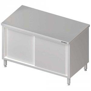 Stół centralny,przelotowy z drzwiami suwanymi 1300x700x850 mm