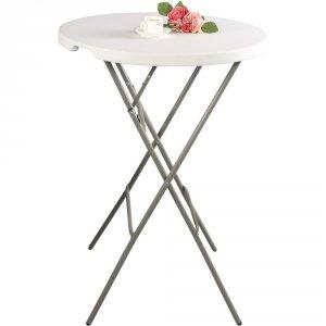 stół cateringowy barowy składany okrągły  ? 800, H 1100