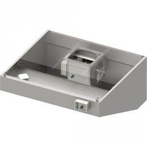 Okap przyścienny skośny ECONOMIC z łap. B,went. E2 i ośw. 2400x900x450 mm (1 segment)