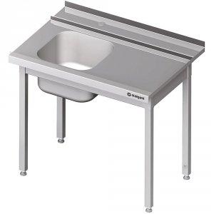 Stół załadowczy(P) 1-kom. bez półki do zmywarki STALGAST 1100x750x880 mm spawany