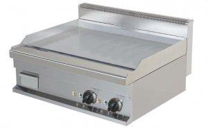 Płyta grillowa elektryczna nastawna   gładka   chromowana   EEG721-S #   8,1 kW