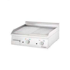 Płyta grillowa elektryczna, ryflowana, 8.1 kW