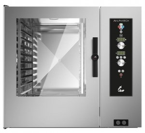 Piec konwekcyjno-parowy elektryczny Alphatech by Lainox | LVES102 | 31kW | 10xGN2/1-20xGN1/1