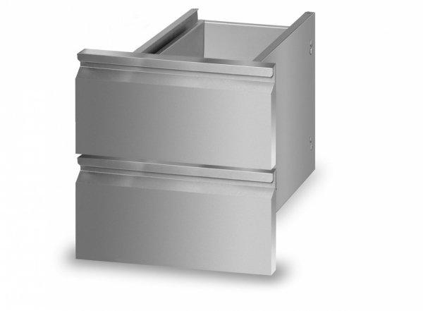 Zespół dwóch szuflad do szafek L700.SZ400 Lozamet