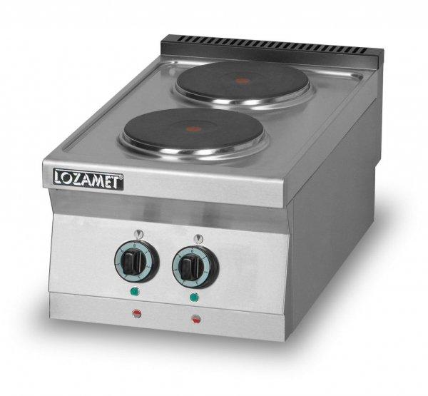 Kuchnia elektryczna 2-płytowa L900.KEO2 Lozamet