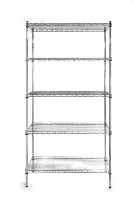 Regał magazynowy - 5 półkowy 910x455x(H)1830