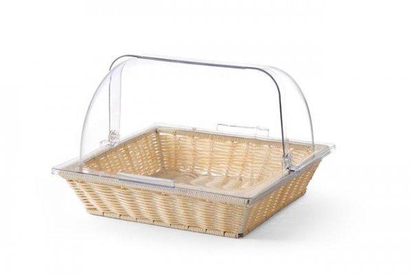 Koszyk do pieczywa z pokrywą ROLLTOP zestaw